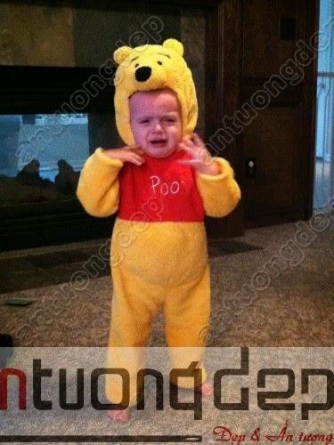 bán thuê mascot gấu pooh giá rẻ