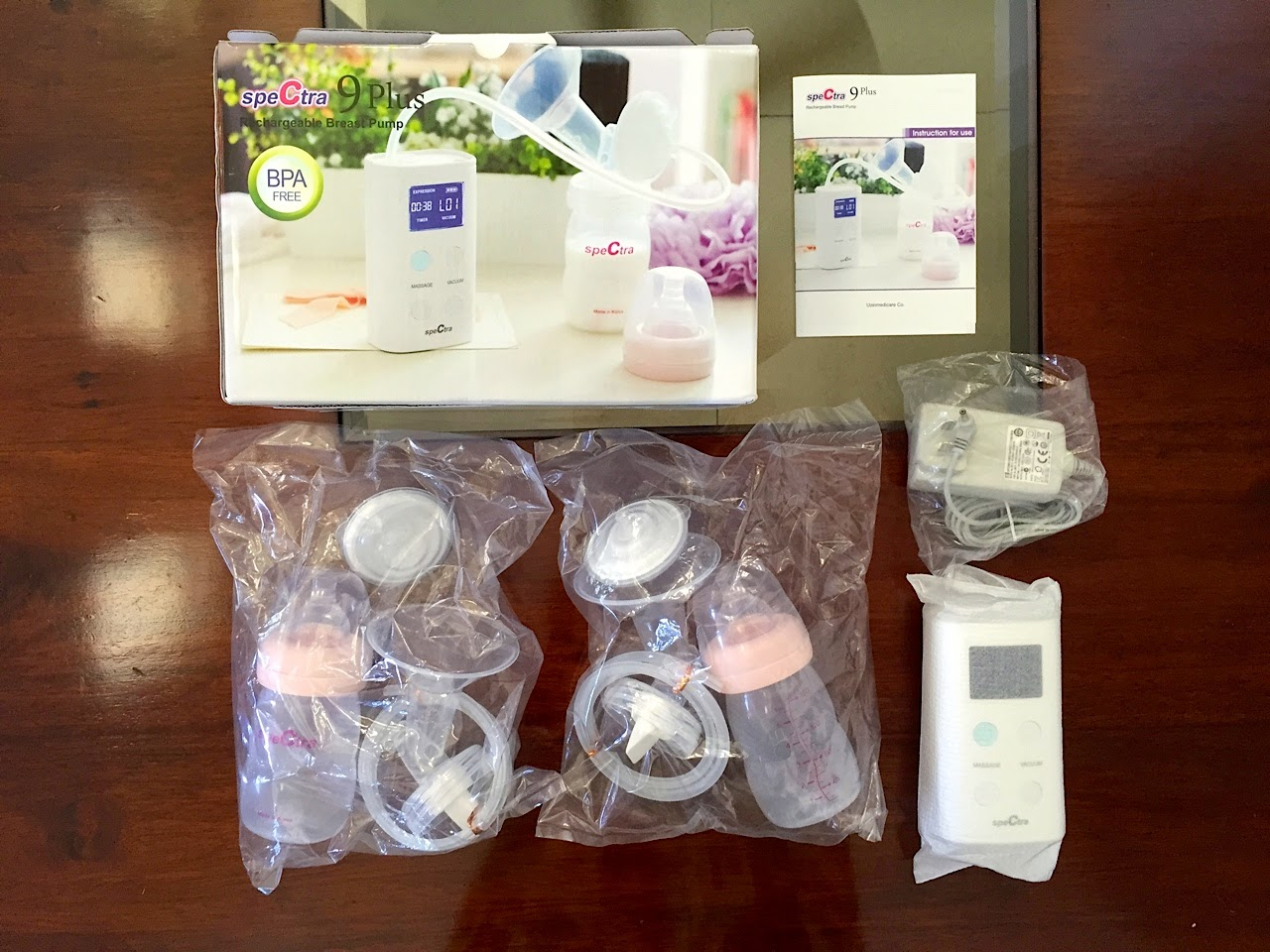 spectra s1 breast pump instruction manual