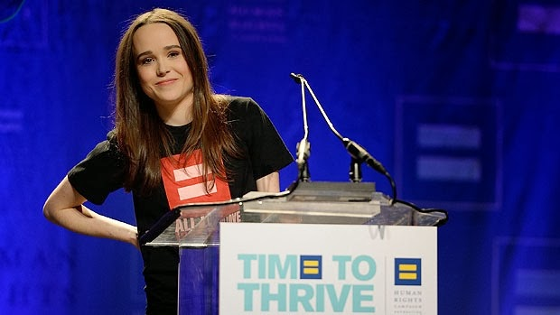 ellen page, actors who are gay, time to thrive, whorrified,