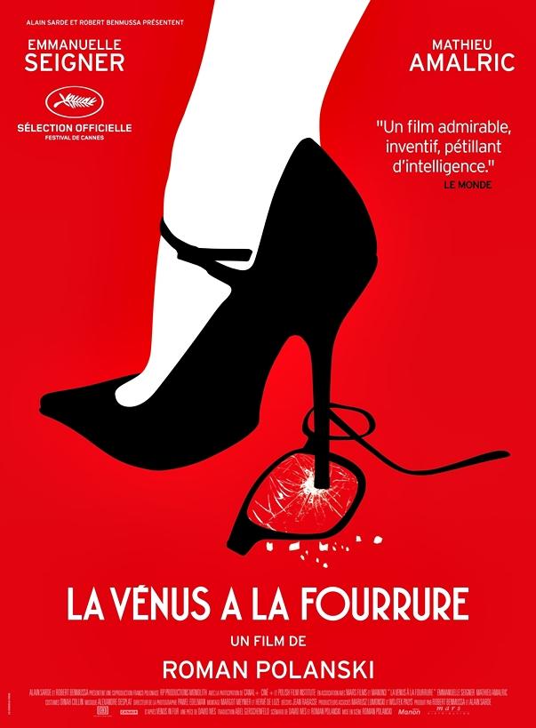 La Venus de las pieles, de Roman Polanski póster