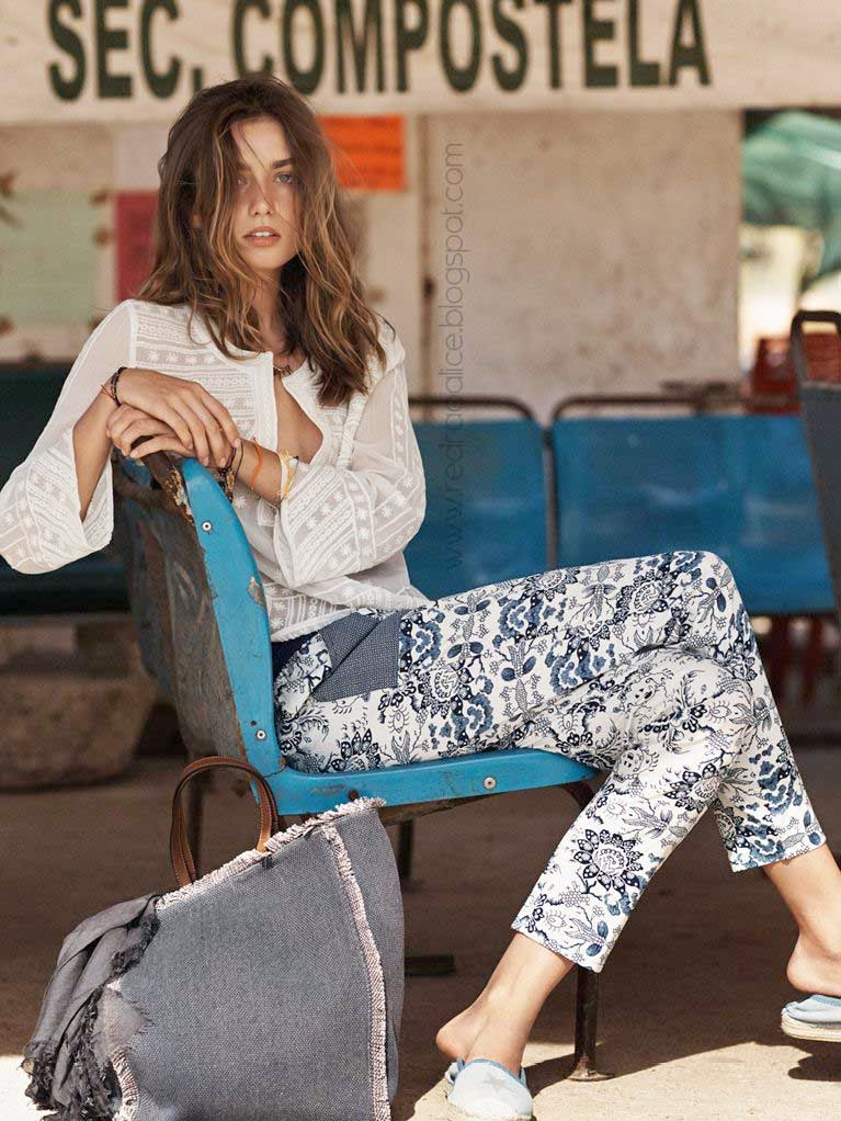 Mango, summer trends 2014, Summer Fashion, Summer Beach Fashion, Fashion at the beach, Mango Clothing, Mango Fashion, Daria Werbowy, Adreea Diaconu