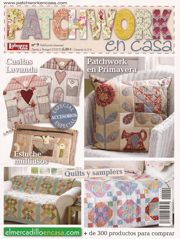 Patchwork en Casa - Patchwork with Love: Patchwork en Casa nº 9 y ...