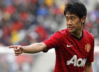 Shinji Kagawa Midfielder Manchester United Pictures