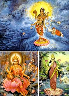 Лакшми — богиня изобилия, процветания, богатства, удачи и счастья.