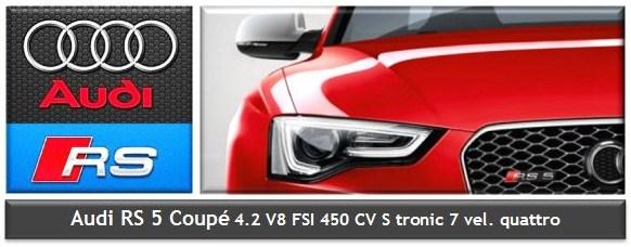 Automóvil AUDI RS5