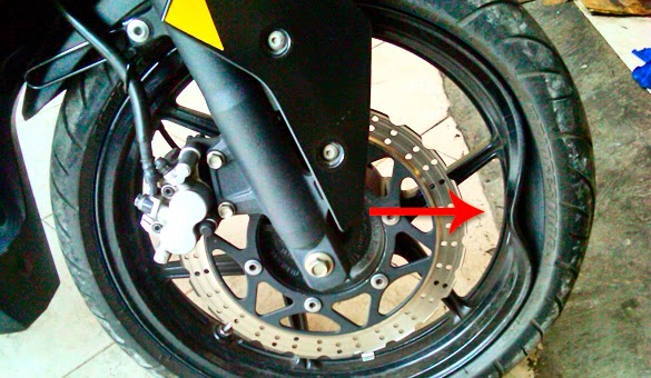 Memperbaiki Velg Racing Motor Yang Bengkok dan Retak