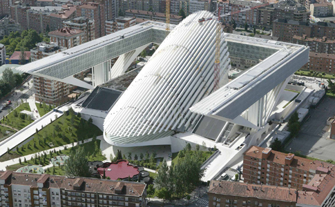 Edificio Calatrava, oficinas del Principado de Asturias