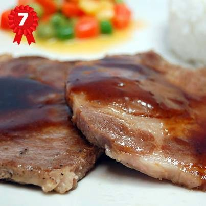 Bon Doys: Grilled Pork with gravy