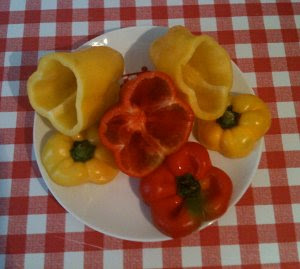 Peppers Stuffed with Meat