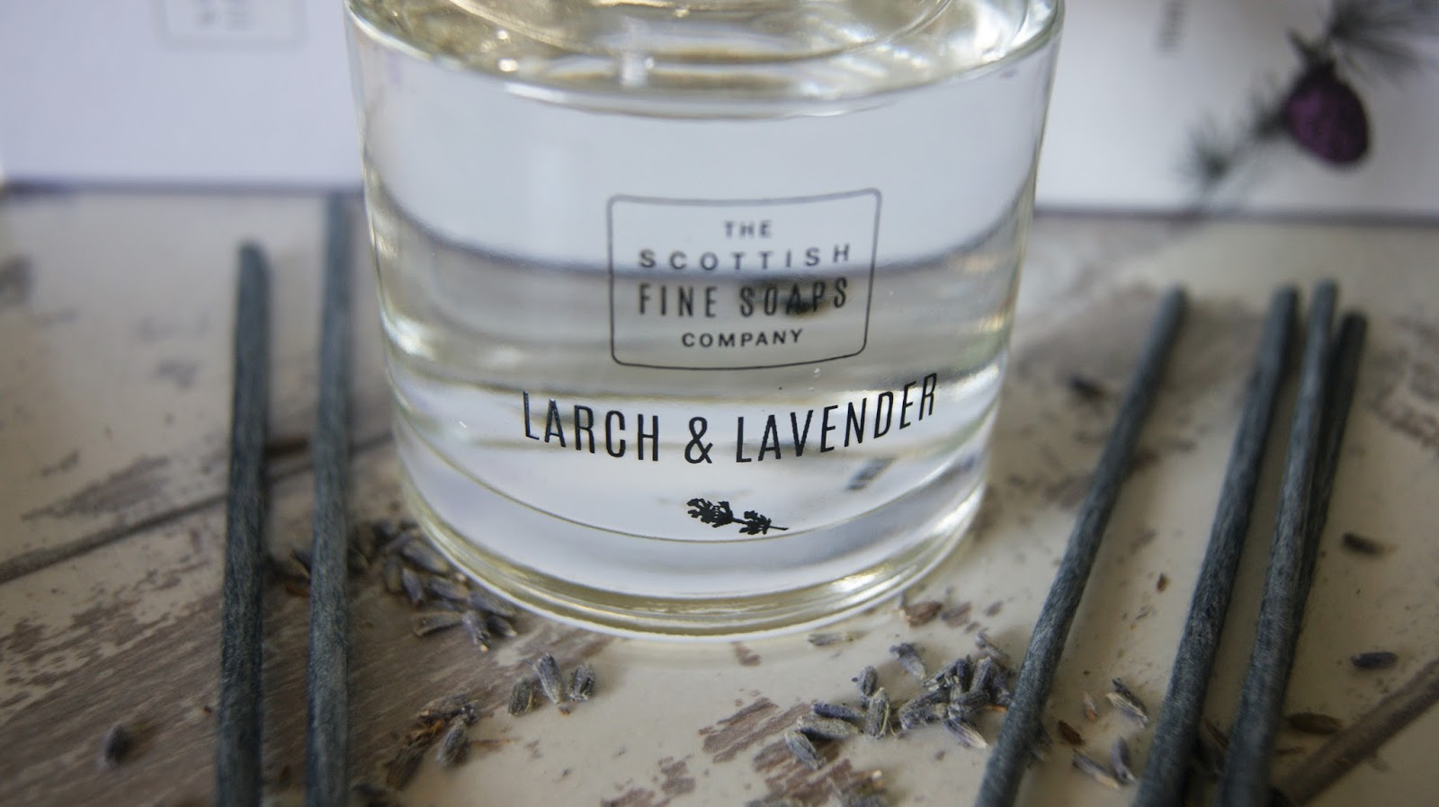beauty review scottish fine soaps larch lavender collection a life with frills. Black Bedroom Furniture Sets. Home Design Ideas