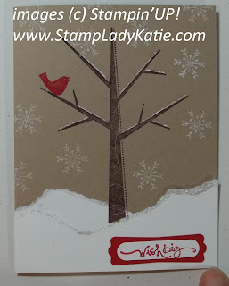 Card made with Stampin'UP! set: Season of Friendship