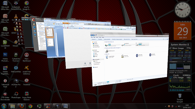 Flip 3D Windows 7