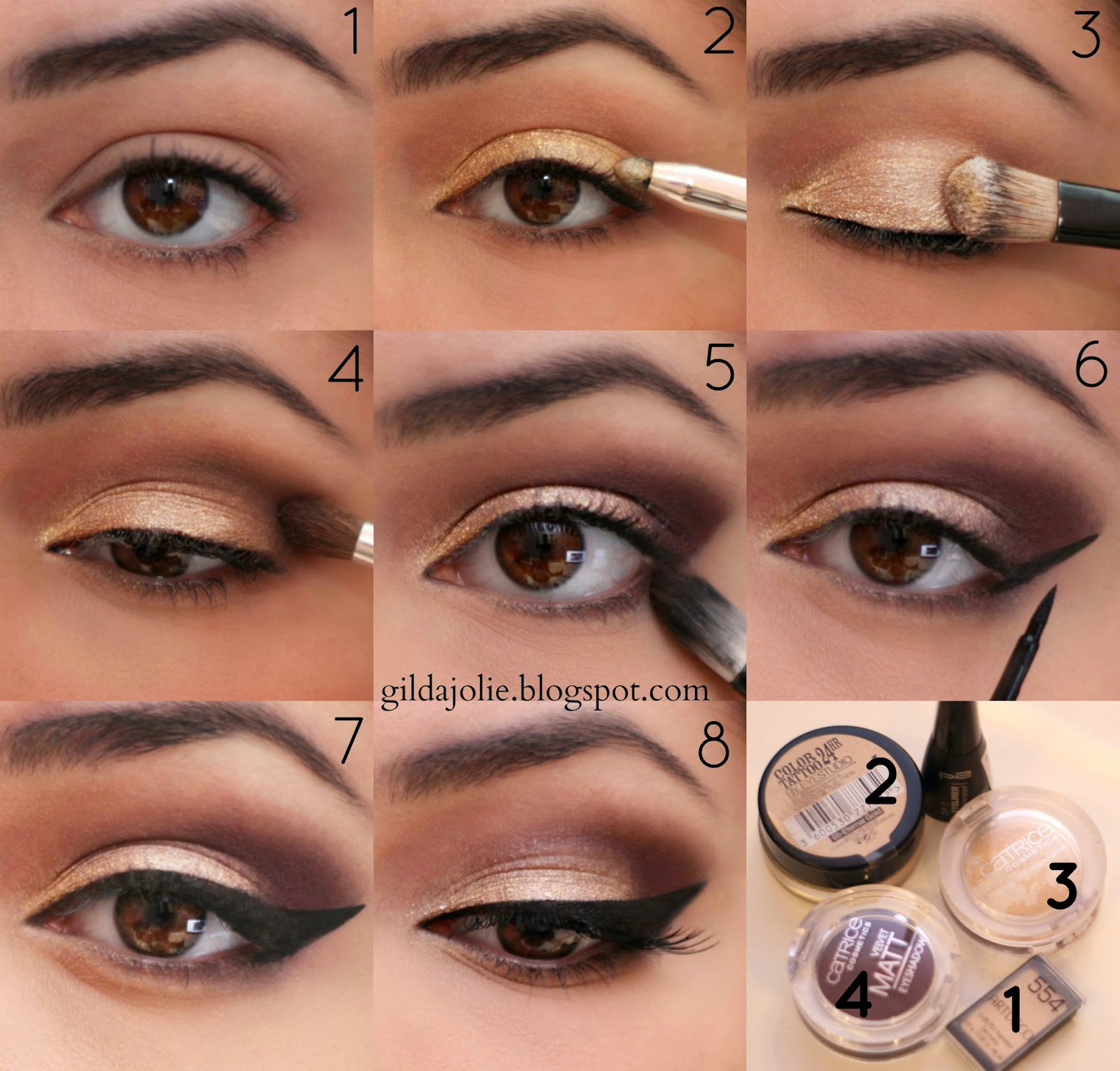 tutorial that special eye makeup it 39 s gilda. Black Bedroom Furniture Sets. Home Design Ideas