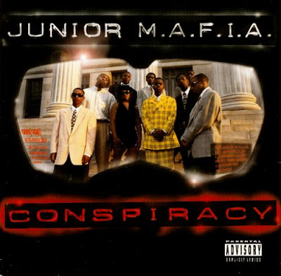 wallpaper notorious big - junior mafia - album cover