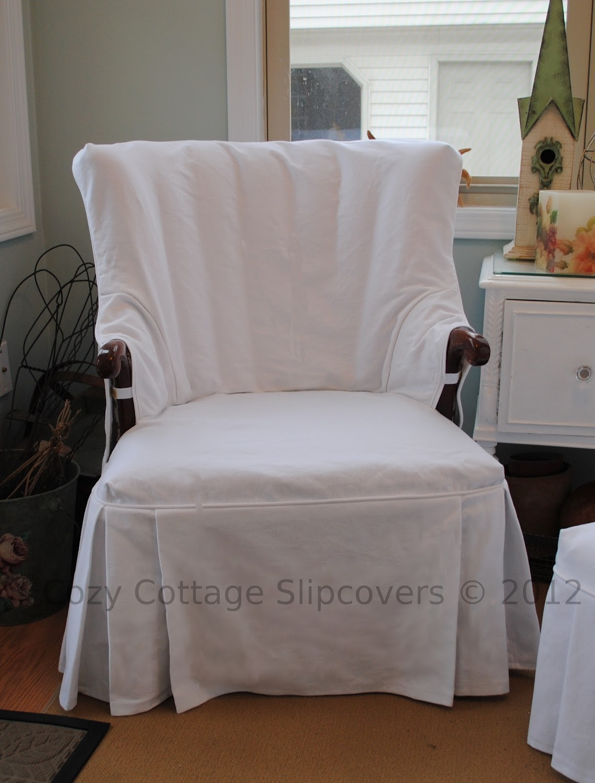Cozy cottage slipcovers new office chair slipcovers - Sunroom Slipcovers