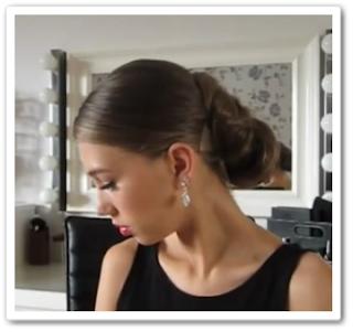 Элегантная прическа за 5 минут онлайн видео урок