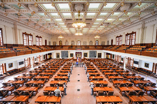 The House Chambers at the Texas Capital.