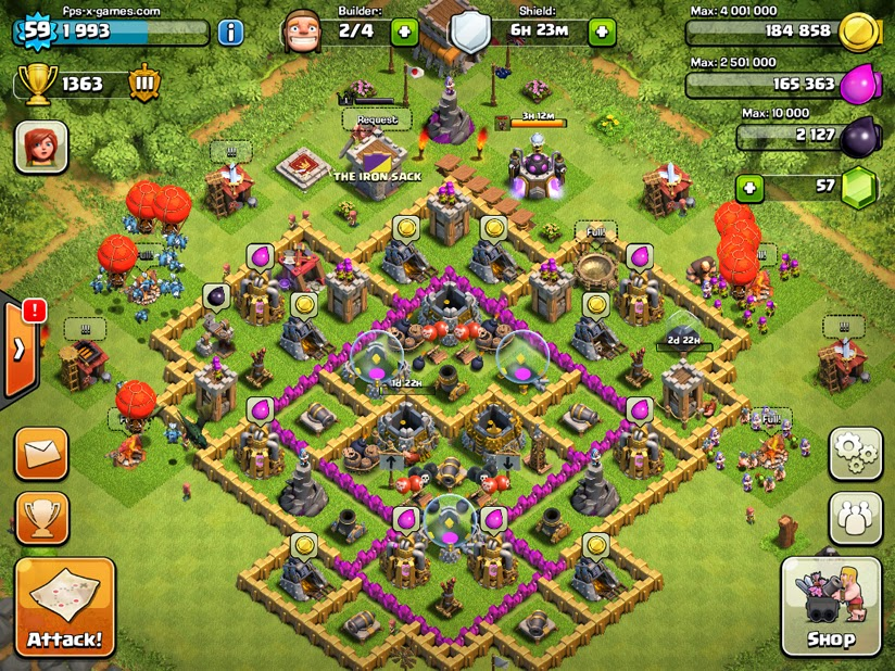 game of clash of clans