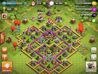 FPSXGames Clash of Clans IOS Game