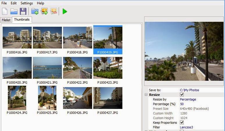برنامج image tuner لتعديل على الصور