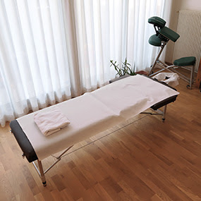 Le salon de massage