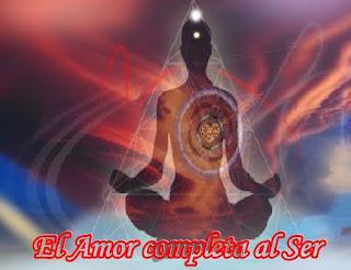 La única forma de completar su Ser es a través del Amor Incondicional, primero deben hacerlo consigo mismos, para luego, de forma natural, expandirlo a toda la vida.