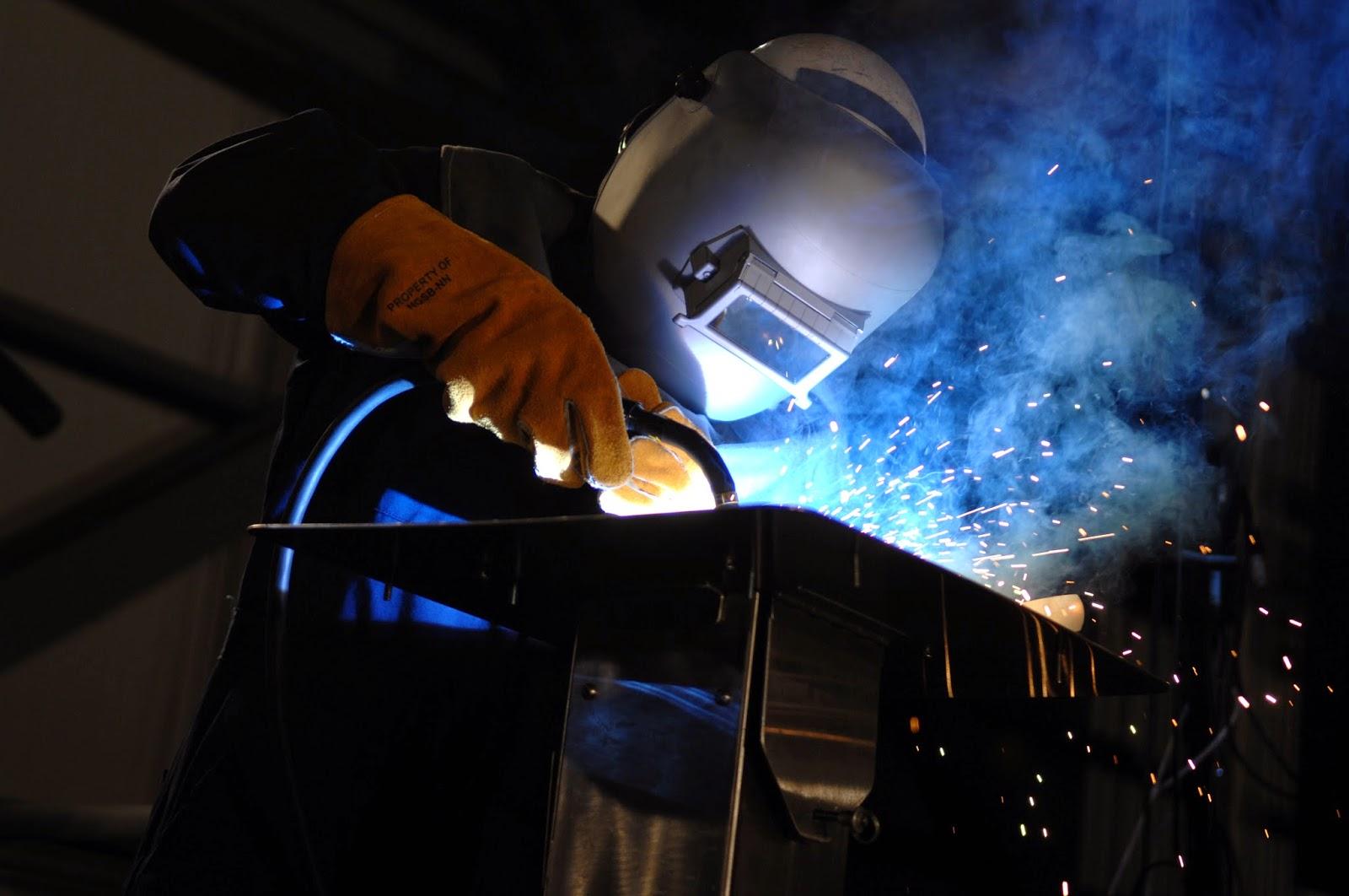 Welding jobs are abundant