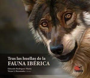 """Portada """"Tras las huellas de la fauna ibérica"""""""