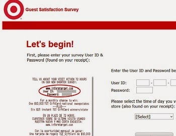 Inform Feedback in Target Guest Satisfaction Survey