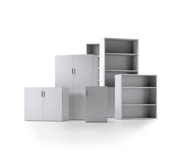 la y la al espacio de la oficina es la principal del programa de armarios bilaminados