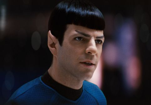 they cast a Spock-like Spock, Zachary Quinto.
