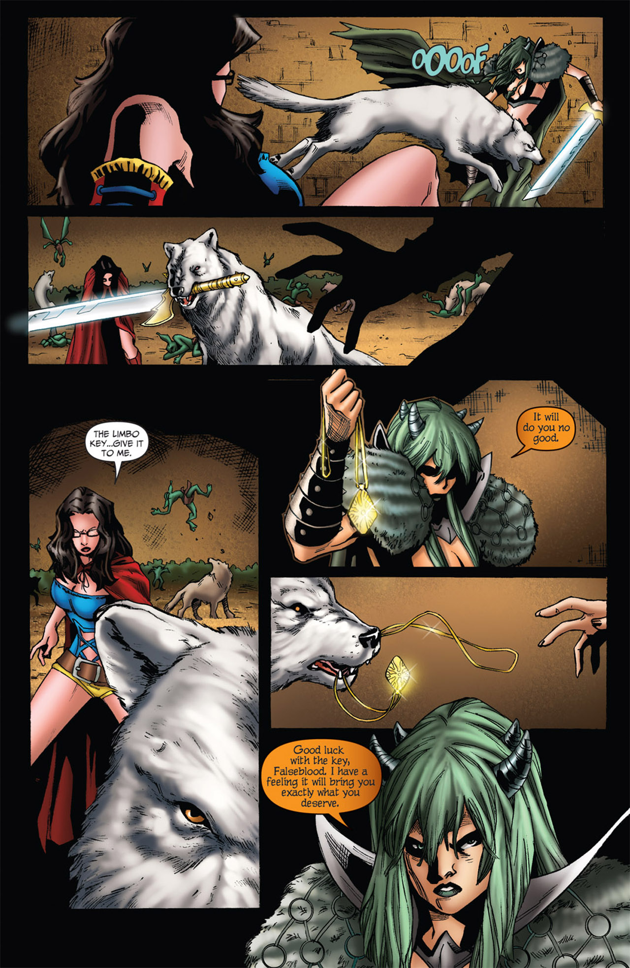 Grimm Fairy Tales (2005) Issue #56 #59 - English 10