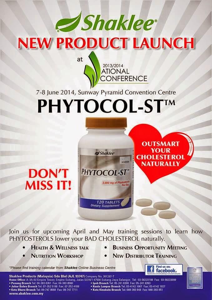 produk phytocol st shaklee baru