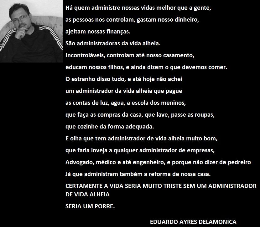 ADMINISTRADOR DE VIDA ALHEIA