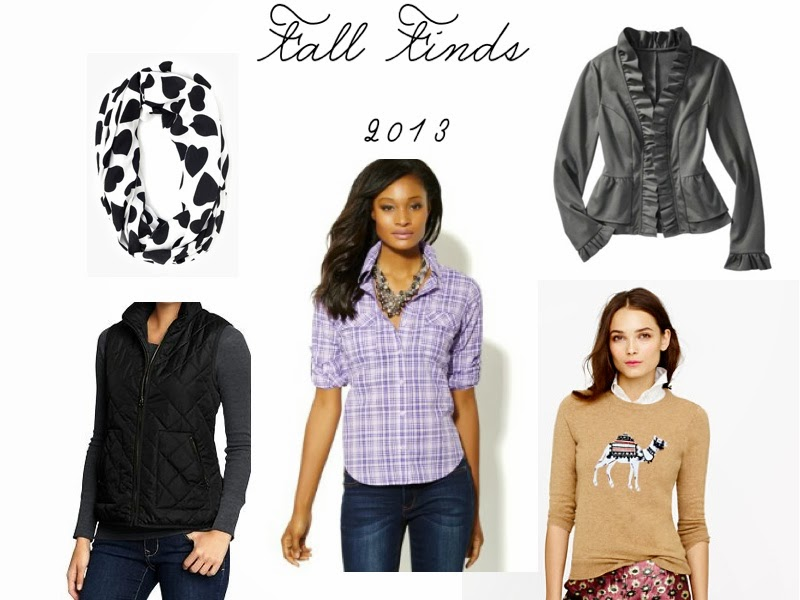 Friday Fixation: Fall Finds