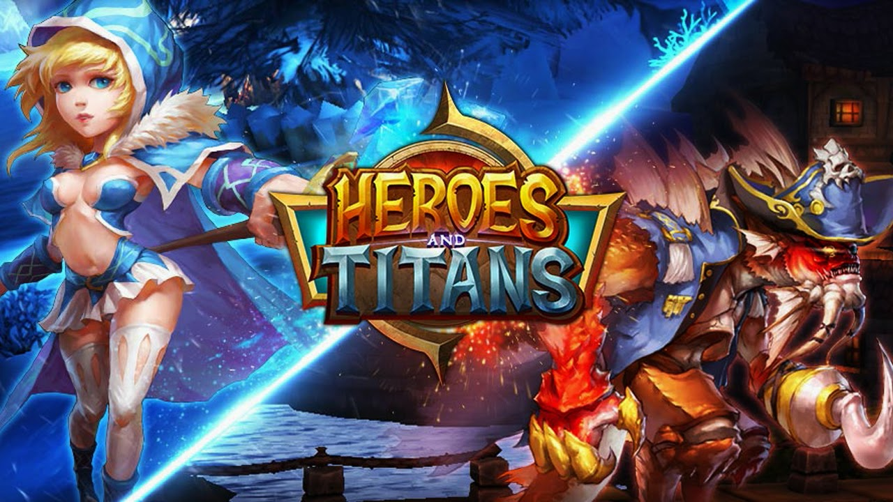 Heroes & Titans: Battle Arena Gameplay IOS / Android | PROAPK