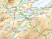 Click to enlarge inverness scotland map