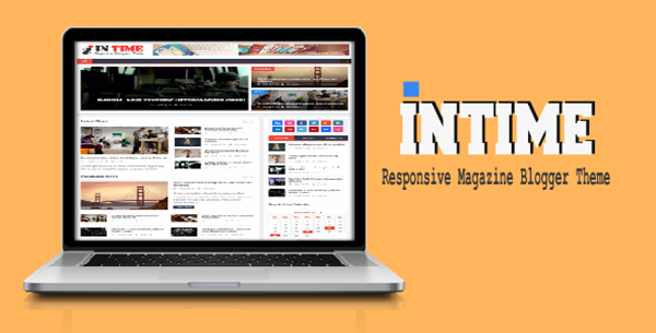 Intime Magazine Responsive Blogger Template