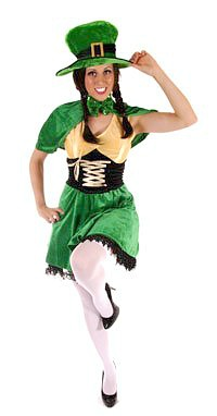 Ladies Leprechaun Costume