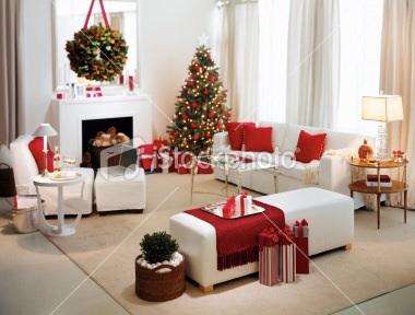 Noel en rouge et blanc !