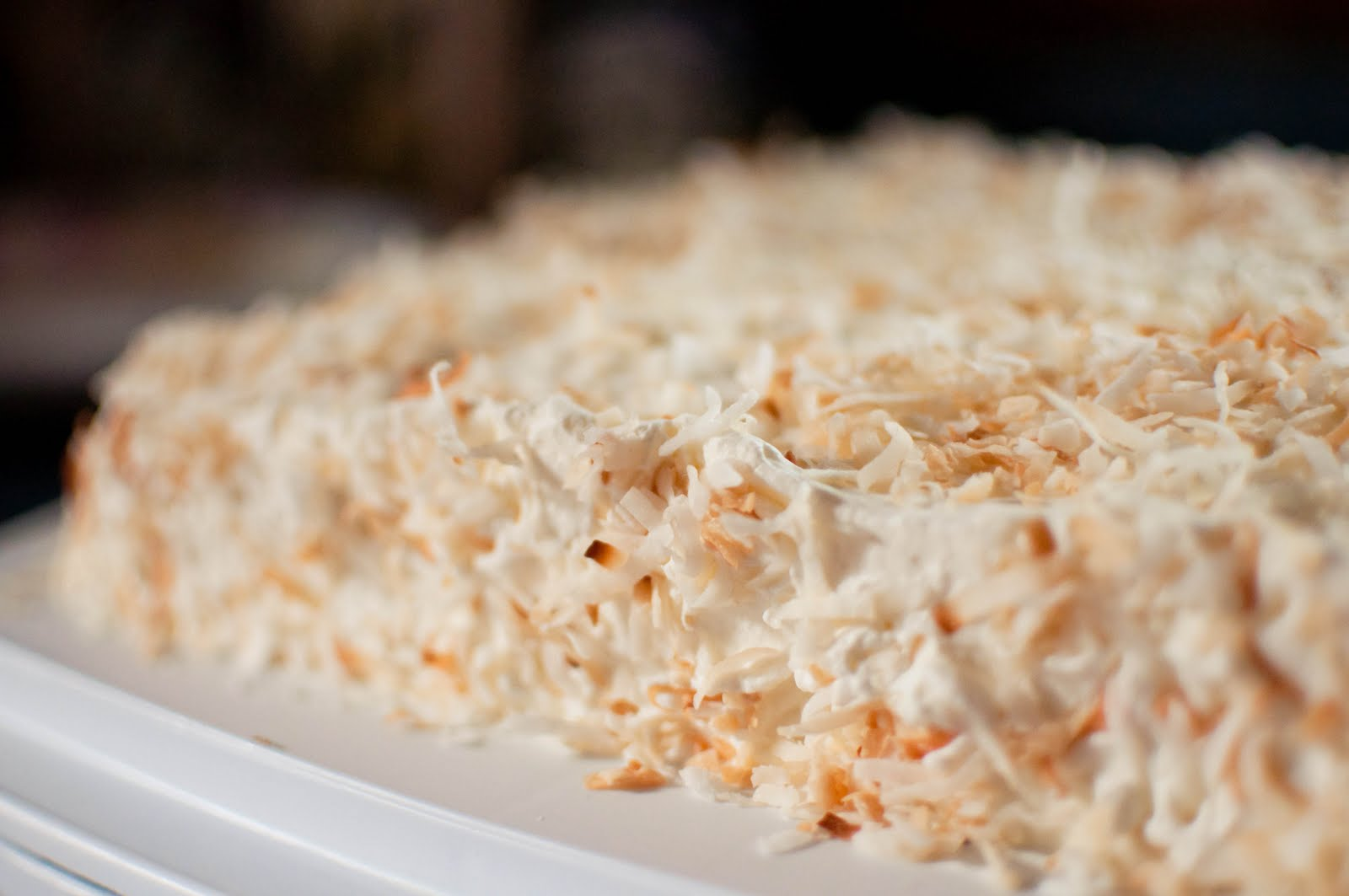 Bless This Food: Coconut Tres Leches Cake