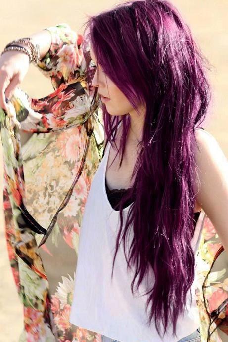 peut tre que a intressera ceux et celles qui ont des cheveux foncs et qui souhaitent tenter des couleurs semi permanentes sans dcolorer au pralable - Coloration Cheveux Bordeau
