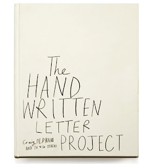Ma Bicyclette: Book Review   The Handwritten Letter Project by Craig Oldham