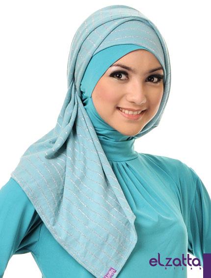Cara Memakai Jilbab Paris Simple Trend Model Terbaru Model | New Style ...