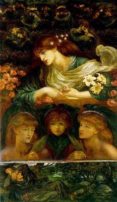 Blessed Damozel by Dante Gabriel Rossetti