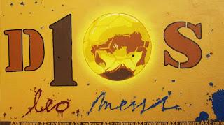 Mural Untuk Prestasi Lionel Messi