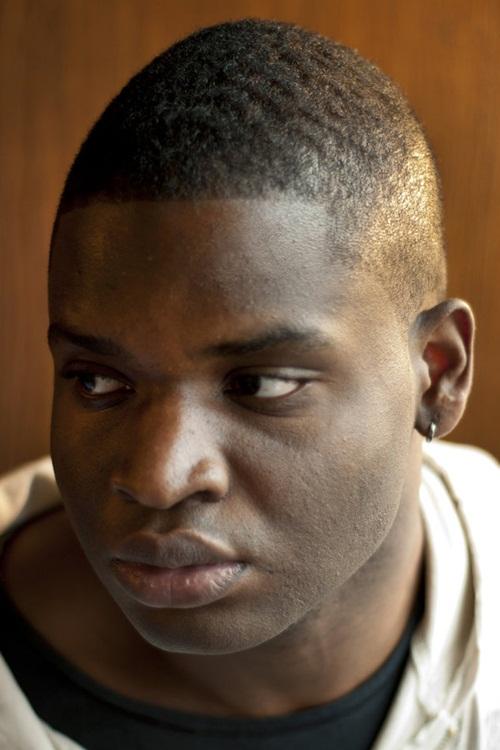 E/S Grape Street Watts Crips Faux-Hawk-Haircut-For-Black-Men
