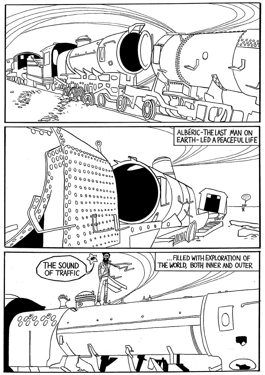 Last Man on Earth comic