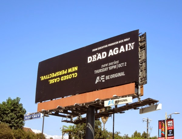 Dead Again series premiere billboard
