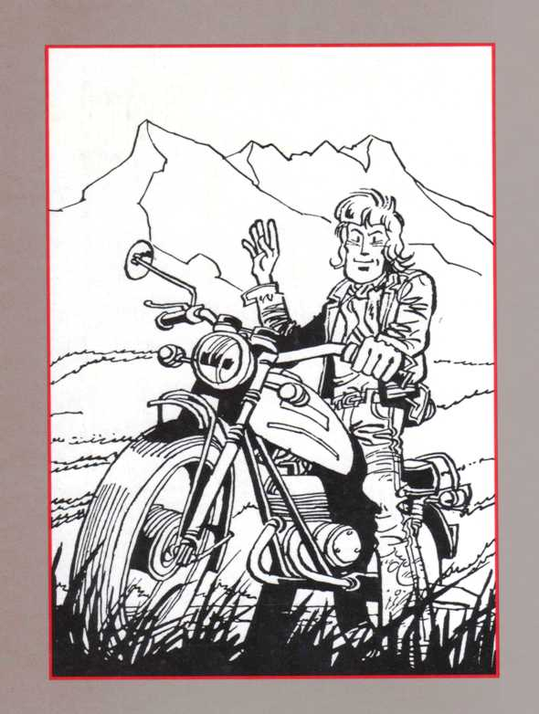 Comic Book Motorcycle Comic Book Motorcycle